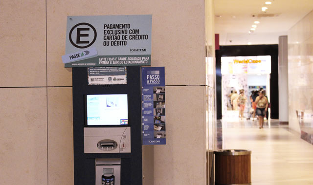 HUB Parking installation Fortaleza Iguatemi Shopping Mall