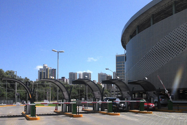 HUB Parking ZEAG peripherals Iguatemi shopping mall Fortaleza