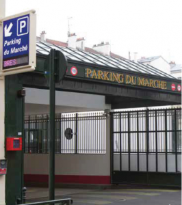 HUB Parking installation Municipality of Puteaux