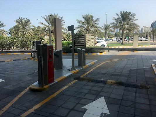 ParQube solutions HUB Parking Abu Dhabi Nation Towers