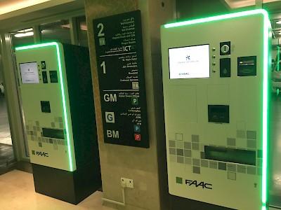 ParQube peripherals HUB Parking Abu Dhabi Nation Towers