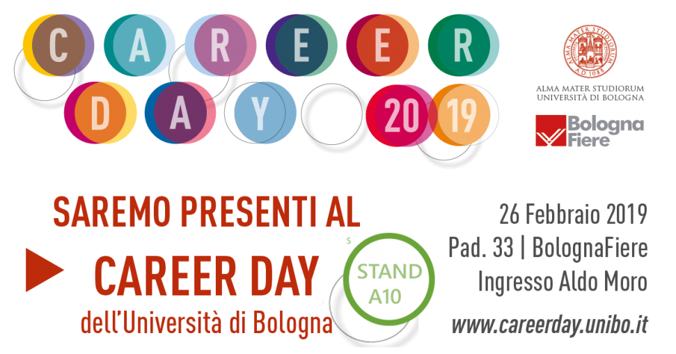 HUB at 2019 Career Day of Università di Bologna