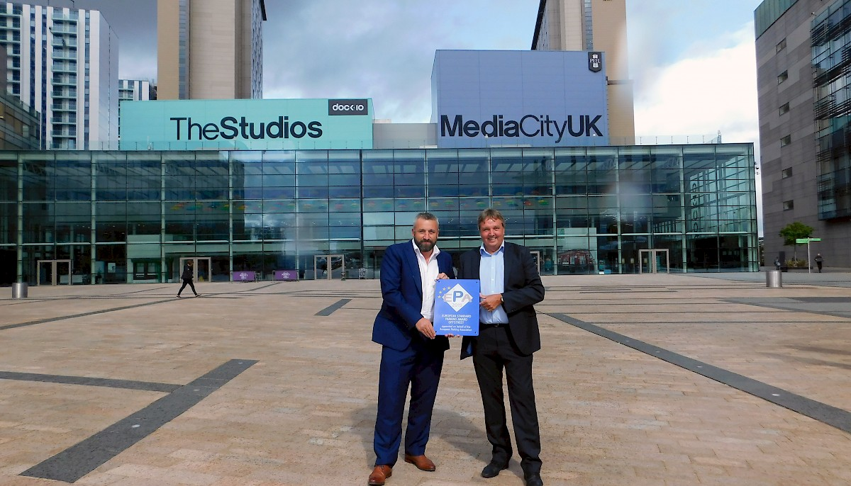 MediaCity UK gets ESPA award thanks to installation with HUB Parking UK