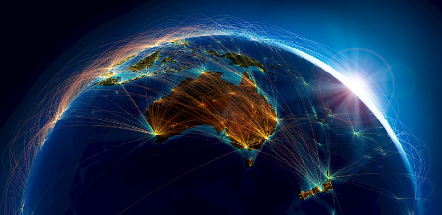Australia roads traffic connect communities