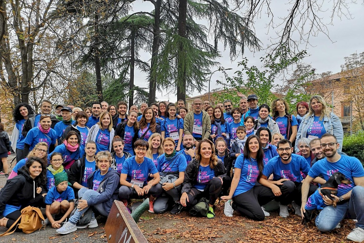 FAAC and HUB team at 13th edition of Bologna Race for the Cure, solidarity