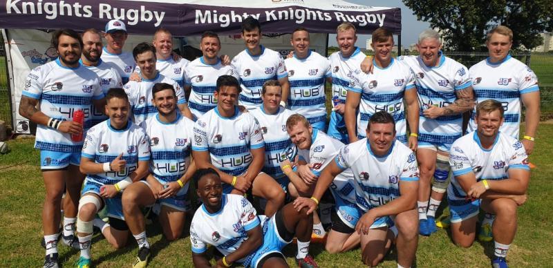 HUB Sud Africa sostiene la squadra di rugby dei Mighty Knights