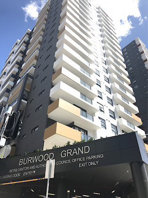 Entrée du Burwood Grand