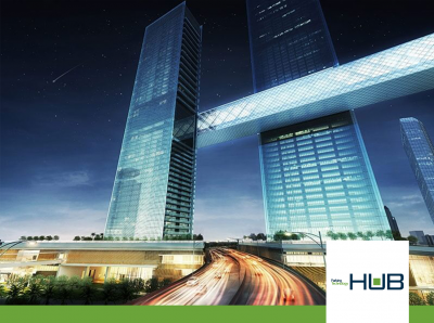 HUB parking peripherals are included in the parking sites for Dubai One Za'abeel new constructions