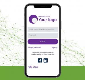 przykład strony logowania do aplikacji JPass, z logo i kolorystyką klienta