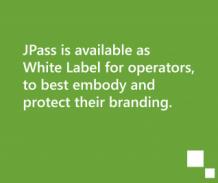 Aplikacja mobilna JPass jest dostępna jako white label dla operatorów, aby jak najlepiej uosabiać i chronić ich wizerunek i markę firmy